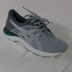 NIB asics gray running shoes women's size 9